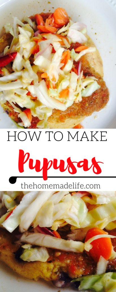How to make Pupusas