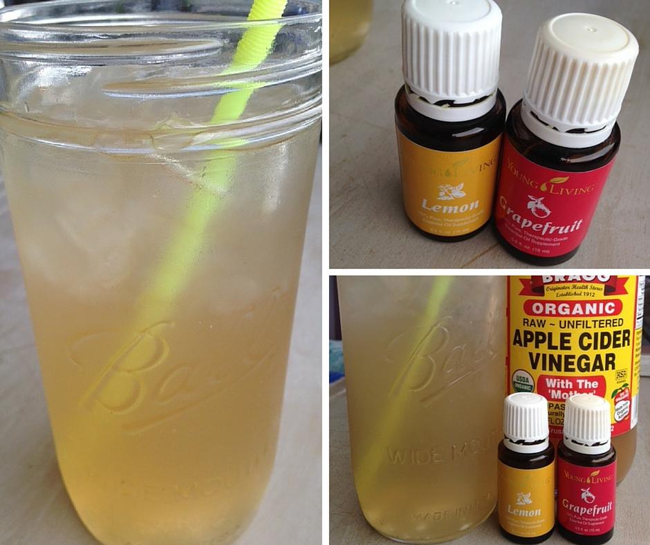 homemade detox drink