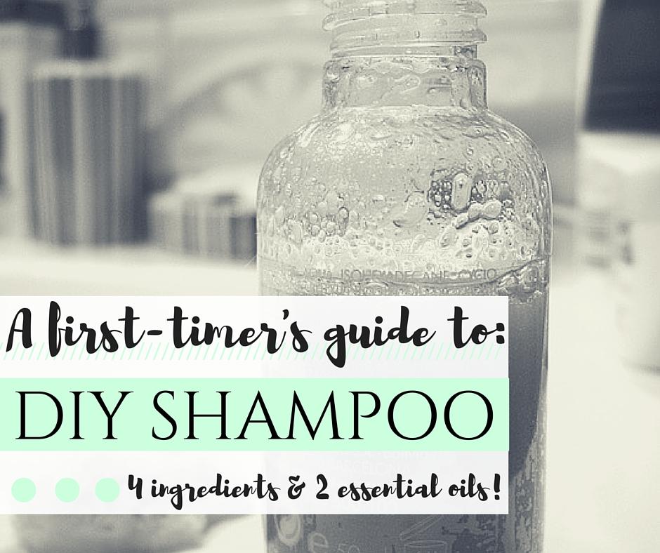 DIY Shampoo with essential oils