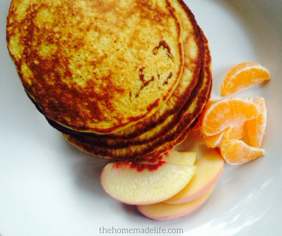 Healthy Homemade Banana Pancakes