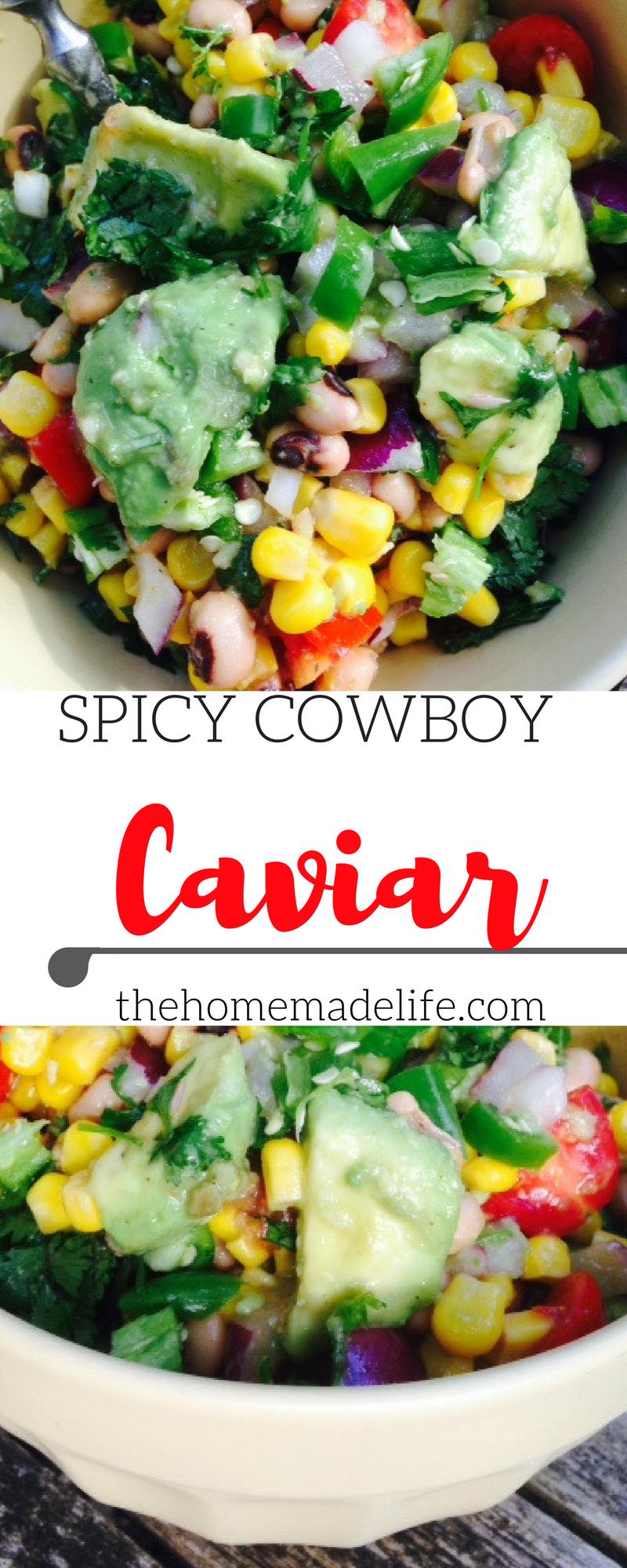 spicy cowboy caviar