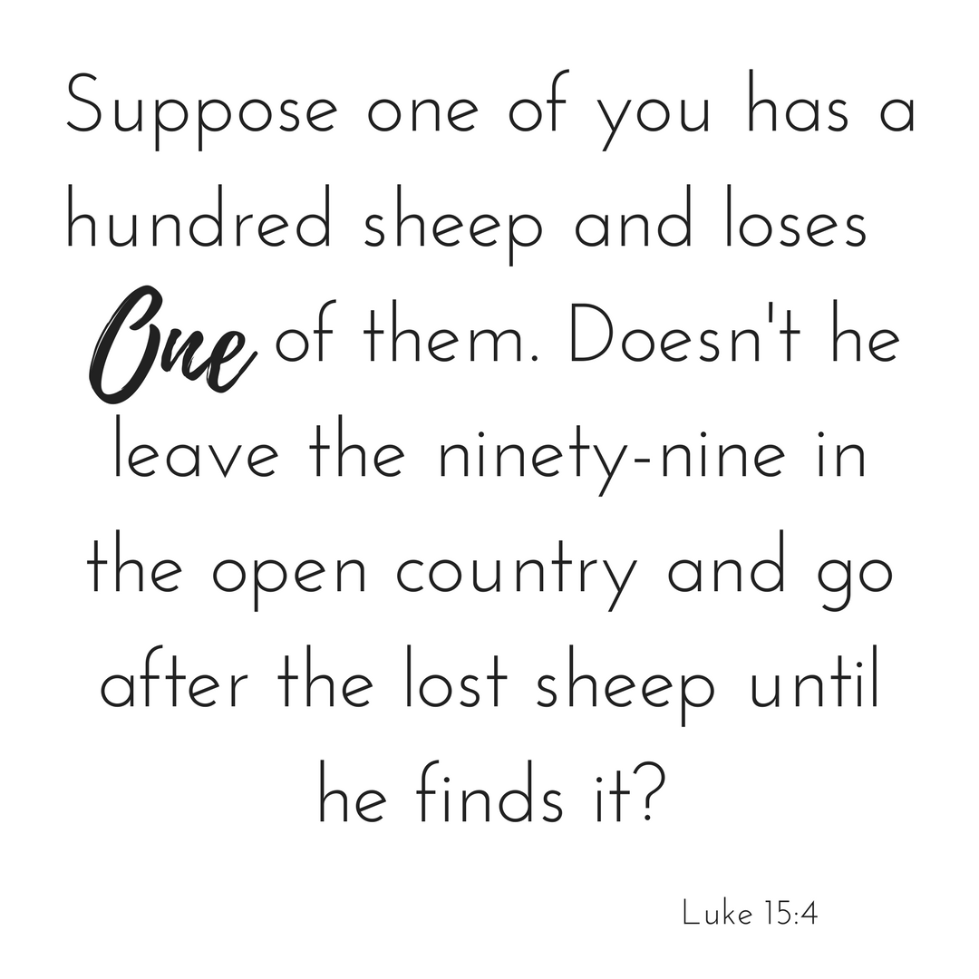 Luke 15:4
