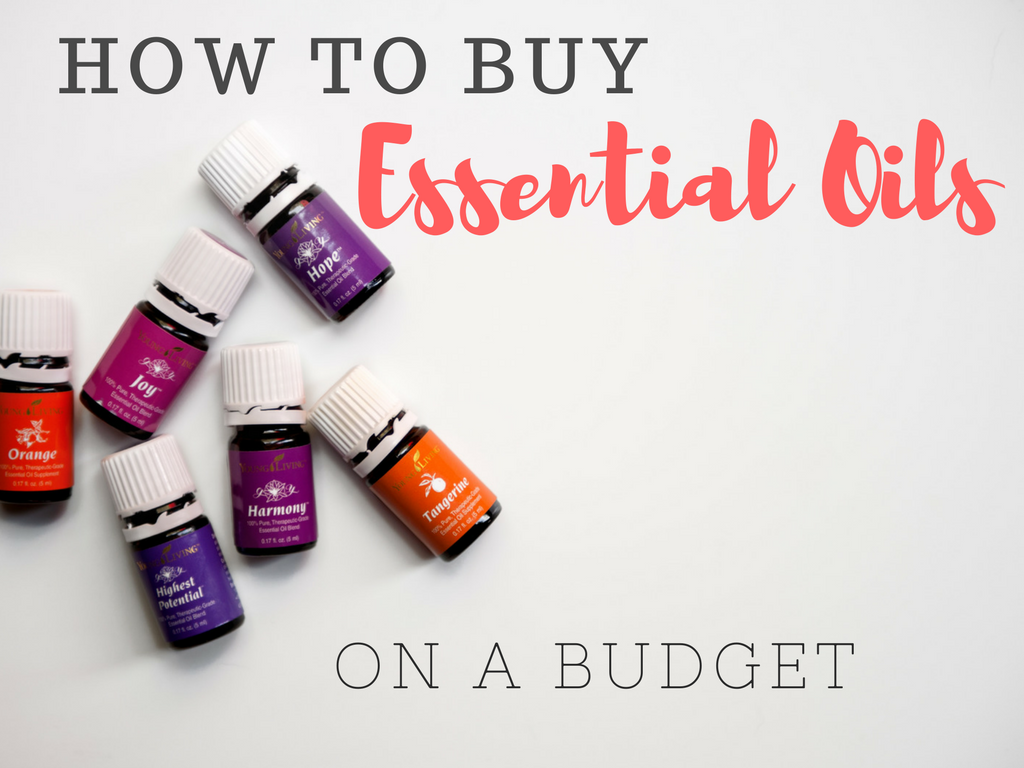 How to Buy Essential Oils on a budget