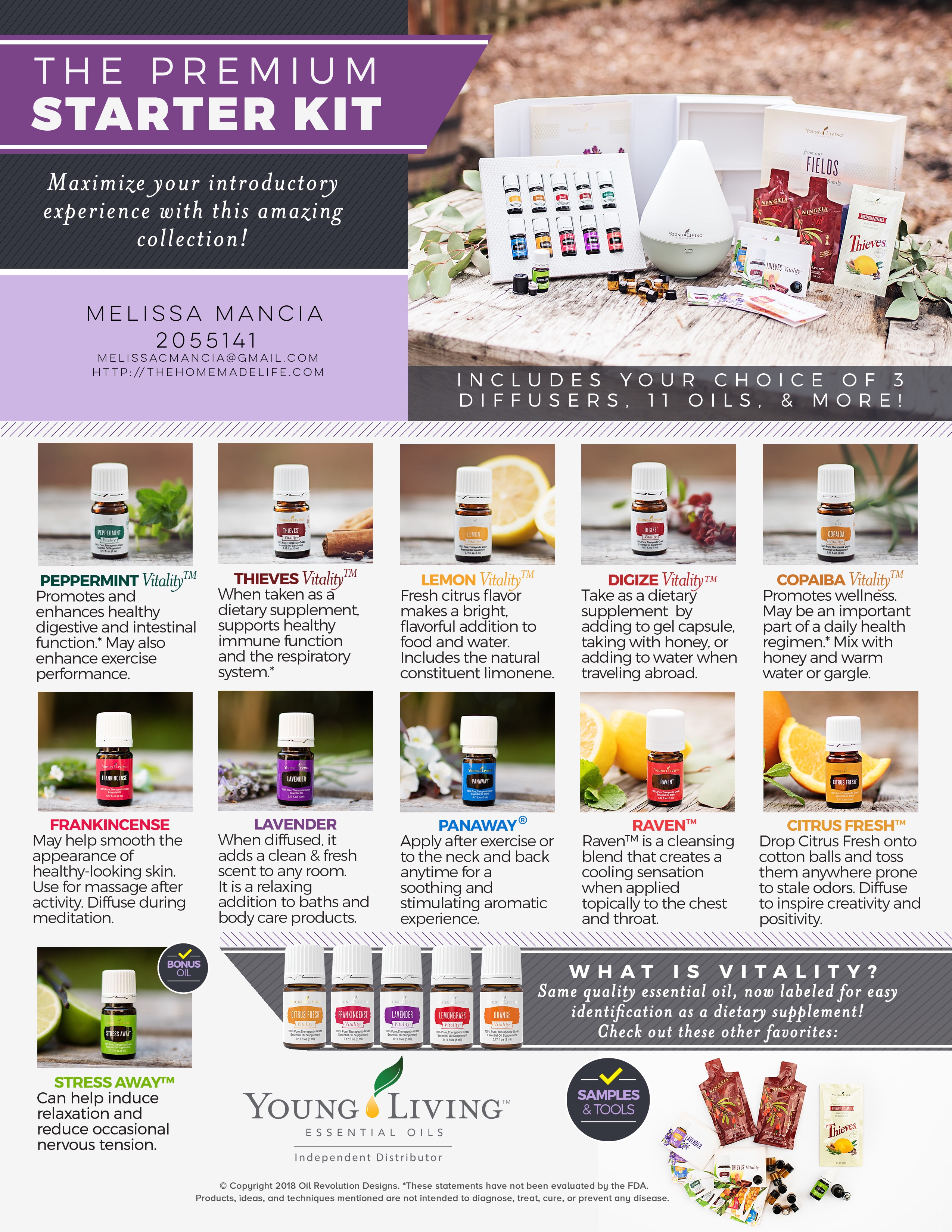 Cyber Monday Young Living Sale 2018 Premium Starter Kit